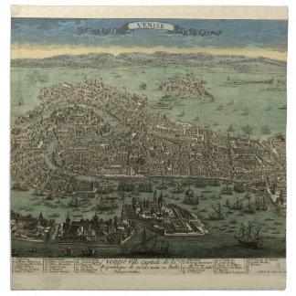 Serviettes De Table Venise Italie 1798