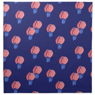 Serviettes de tissu de dîner de ballons à air