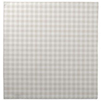 Serviettes de toile de tissu de guingan de ferme