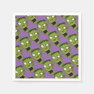 Serviettes En Papier Approvisionnements de partie de zombi de Halloween