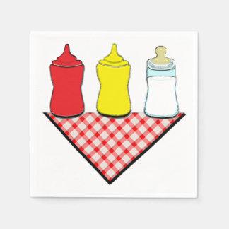 Serviettes En Papier Baby shower de BBQ