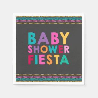 Serviettes En Papier Baby shower de Mexicain de serviette de baby