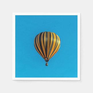 Serviettes En Papier Ballon à air chaud