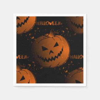 Serviettes en papier cocktail Halloween
