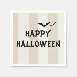 Serviettes en papier cocktail Happy Halloween