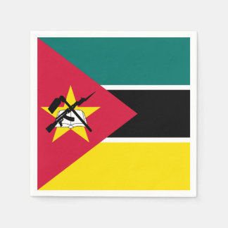 Serviettes En Papier Drapeau de la Mozambique