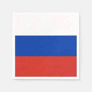 Serviettes En Papier Drapeau de la Russie