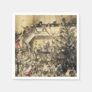 Serviettes En Papier Fête de Noël