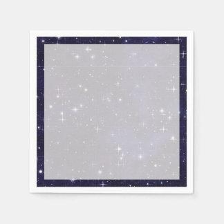 Serviettes En Papier Grille étoilée de ciel nocturne