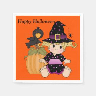 Serviettes En Papier Halloween badine la serviette mignonne de partie