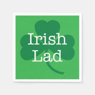 Serviettes En Papier Jeune homme irlandais, partie du jour de St