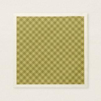 Serviettes En Papier motif coloré géométrique de coton