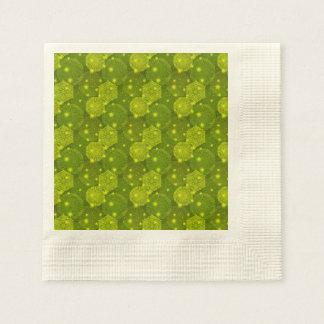 Serviettes En Papier Motif de luxe floral de mandala