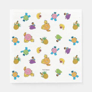 Serviettes En Papier Motif tropical de Sesame Street