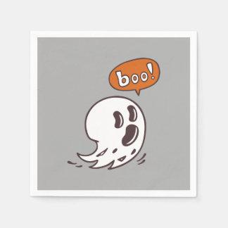 Serviettes En Papier Serviette de papier de fantôme de Halloween