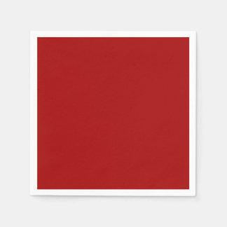 Serviettes En Papier Serviette de papier de sucrerie de cocktail rouge