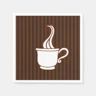 Serviettes En Papier Serviettes de café