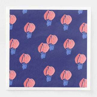 Serviettes En Papier Serviettes de papier de dîner de ballons à air