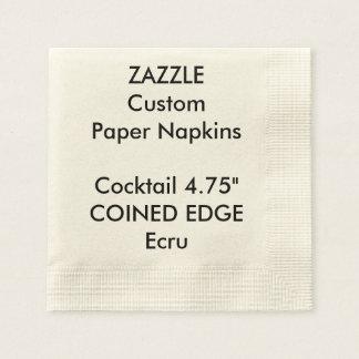 Serviettes En Papier Serviettes de papier inventées par coutume de