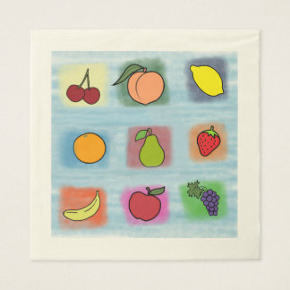 Serviettes En Papier Surprise de fruit