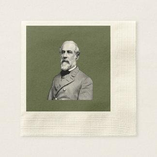 Serviettes En Papier Vert du Général Robert E. Lee USA Army