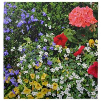 Serviettes En Tissus Affichage floral 2