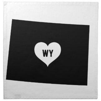 Serviettes En Tissus Amour du Wyoming