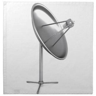 Serviettes En Tissus Antenne parabolique