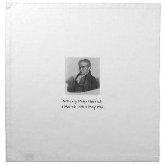 Serviettes En Tissus Anthony Philip Heinrich