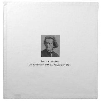 Serviettes En Tissus Anton Rubinstein