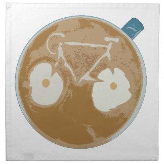 Serviettes En Tissus Art de recyclage de Latte