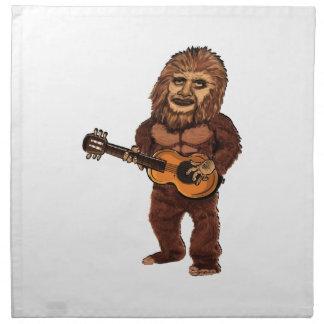 Serviettes En Tissus Ballade de Bigfoot