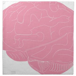 Serviettes En Tissus Cerveau rose
