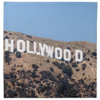 Serviettes En Tissus Ciel de la Californie de montagnes de visibilité