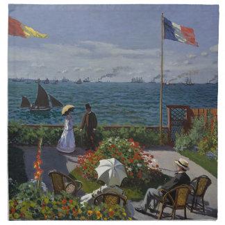 Serviettes En Tissus Claude Monet - le jardin à l'art de Sainte Adresse