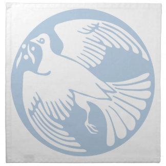 Serviettes En Tissus colombe de paix