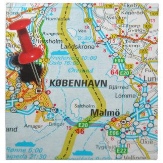 Serviettes En Tissus Copenhague, København au Danemark