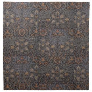 Serviettes En Tissus Cru 1888 William Morris Ispahan