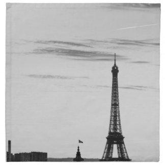 Serviettes En Tissus Eiffel Tower, France