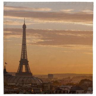 Serviettes En Tissus Eiffel Tower, Paris, France