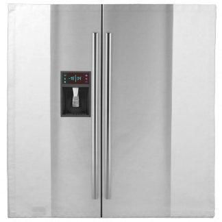 Serviettes En Tissus Grand réfrigérateur