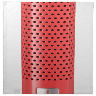 Serviettes En Tissus Haut-parleur futé rouge