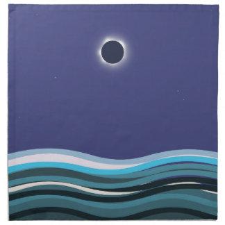 Serviettes En Tissus Image renversante de l'art 2017 d'éclipse