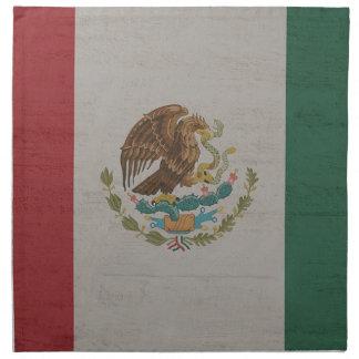 Serviettes En Tissus International de drapeau du Mexique