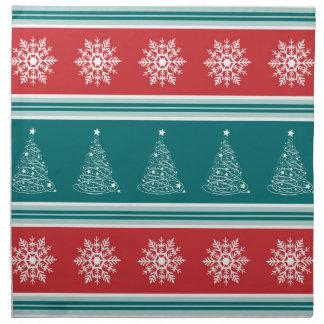 Serviettes En Tissus Joyeux Noël