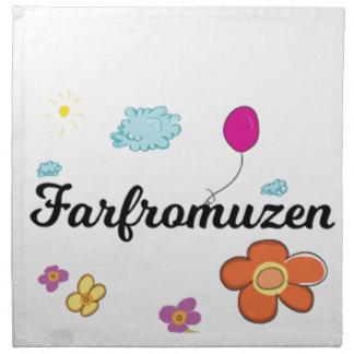 Serviettes En Tissus Logo de FarFrom Usen