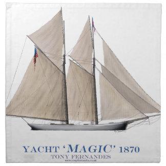 Serviettes En Tissus Magie 1870