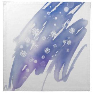 Serviettes En Tissus Magie d'hiver