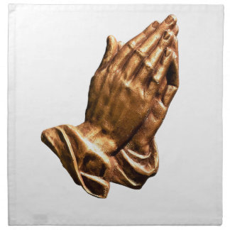 Serviettes En Tissus ministère de prière de mains