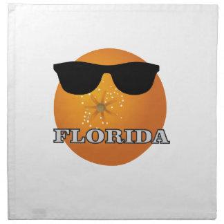 Serviettes En Tissus nuances de la Floride